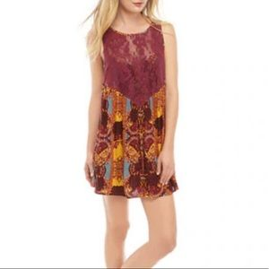 NWT Free People Count Me In Trapeze boho tunic